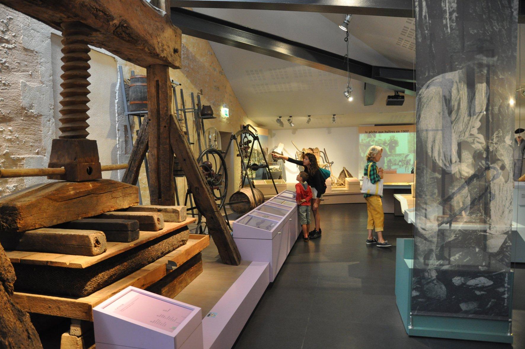 Viticulture - crédit Musée de l'île d'Oléron1