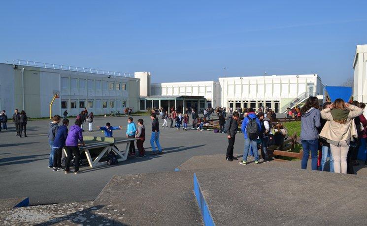 Le collège de Saint-Pierre d'oléron