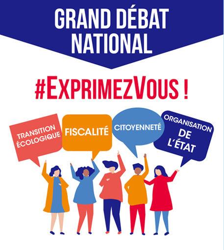 Grand débat national & réunion d'initiative locale